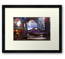 The New Model Framed Print