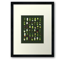 Robotz - Forest Framed Print