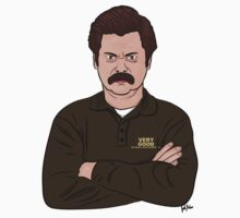 Ron Swanson  by thatkidpinker