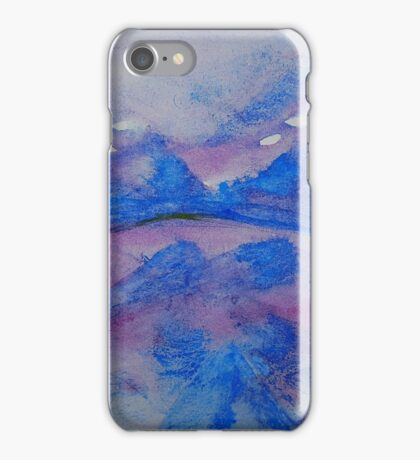 Misty Mountains iPhone Case/Skin