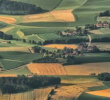 Bavarian Fields Forever Sticker