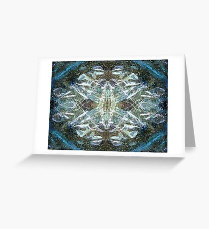 Abstract cosmos Greeting Card