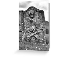 Death Greeting Card