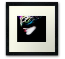 Bringing Life to a Fairy Framed Print