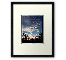 One Creator Framed Print