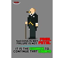 PIXEL People; Winston Churchill Photographic Print