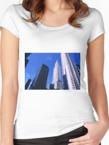 NYC Chrysler Building Women's Fitted Scoop T-Shirt