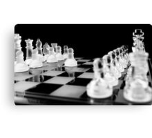 make the first move Canvas Print