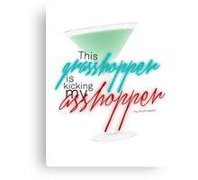 Raj Koothrappali - Grasshopper quote Canvas Print