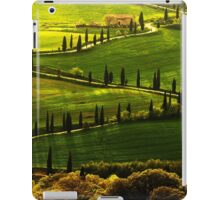 Cypresses Alley iPad Case/Skin