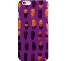Robotz - Gold & Purple iPhone Case/Skin