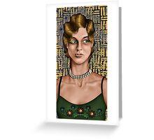 Movie Maiden Greeting Card