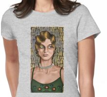 Movie Maiden Womens Fitted T-Shirt
