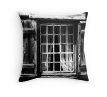 Windows to the past Throw Pillow