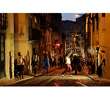 Street Dancing Photographic Print