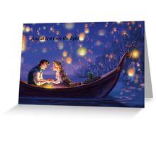 Disneys Tangled Greeting Card
