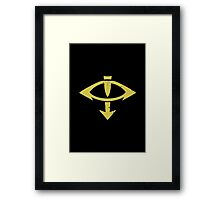 Sons of the eye - Sigil - Warhammer Framed Print
