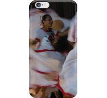 folk dance - baile folclorico  iPhone Case/Skin