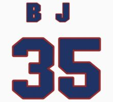National baseball player B.J. Upton jersey 35 by imsport