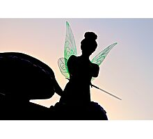 Tink Silhouette Photographic Print