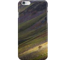 Solitary Tree on the Hillside iPhone Case/Skin