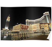 The Venetian Macao Hotel Poster