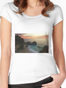 Mcway Falls Women's Fitted Scoop T-Shirt