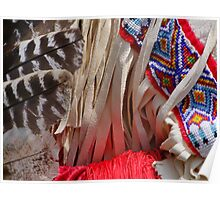 Native American Texture Poster