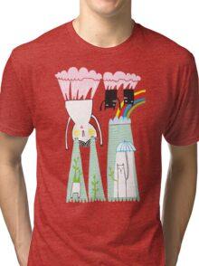 bubblegum skies  Tri-blend T-Shirt