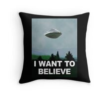 Flight of the X Files Throw Pillow