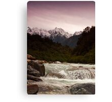 Mountain Display Canvas Print