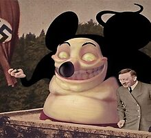 Mickey Mouse and Hitler world domination by stathismori