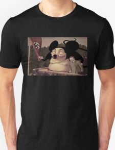 Mickey Mouse and Hitler world domination T-Shirt