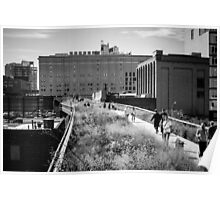 Highline Park Trail - NYC Poster