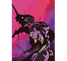 EVA 01 - Evangelion T-shirt / Poster / Phone case / Mug Photographic Print