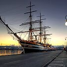 Sailing Ship in the Dawn   by paolo1955