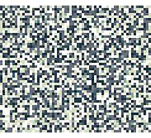 Pixel Art Pattern Photographic Print