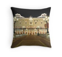 The Venetian Macao Hotel Throw Pillow