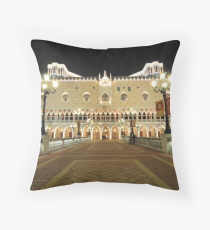 The Venetian Macao Hotel Throw Pillow