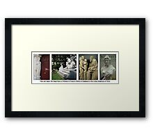 Paris Series 04 Mother and Child Framed Print