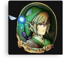 The legend of Link - Fanart Canvas Print