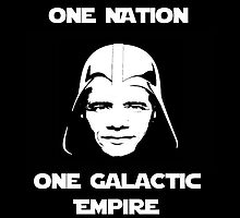 Darth Vader OBAMA Galactic Empire Health Care Reform  by SkullDezign
