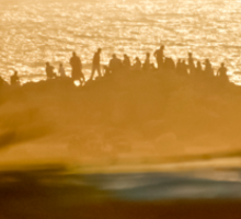 Arabian Sea Sunset Sticker