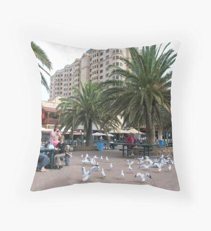 photoj South Australia, Glenelg Beach Throw Pillow