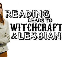 Reading leads to lesbianism by fandomsshit