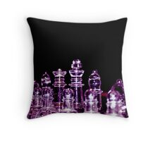 The King and his men... Throw Pillow