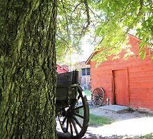 Old Barn in Pioneer Village by jansnow