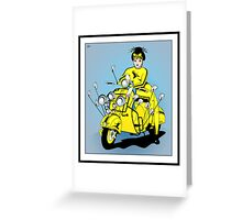 Kung Fu Chick Greeting Card