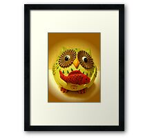 A Fish For You Framed Print