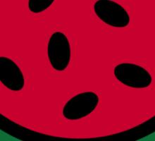 Red Melon Sticker